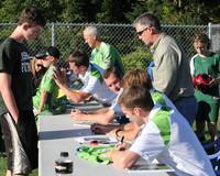 2735 VISC-Seattle Sounders autographs 082310
