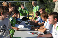 2855 VISC-Seattle Sounders autographs 082310